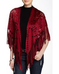 Raj - Vegan Leather Fringe Wrap - Lyst