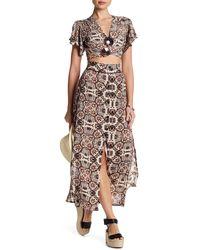 Cleobella - Chase Print Skirt - Lyst