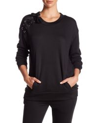 Thomas Wylde - Shoulder Lace-up Knit Pullover Jumper - Lyst