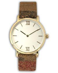 Olivia Pratt - Women's Skinny Cork Quartz Watch - Lyst