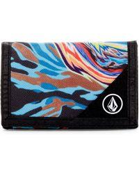 Volcom - Parillo Swirl Cloth Wallet - Lyst