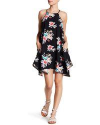 Mimi Chica - Sleeveless Floral Print Dress - Lyst