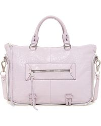 She + Lo - Rise Above Leather Satchel - Lyst
