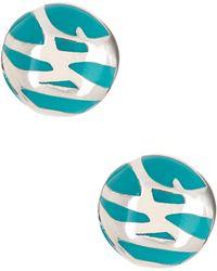 Diane von Furstenberg - Twig Hoop Earrings - Lyst