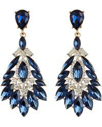 Cara - Fan Drop Earrings - Lyst