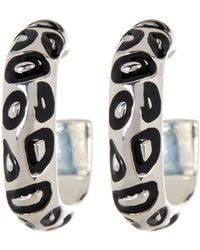 Simon Sebbag - Sterling Silver Spotted Hoop Earrings - Lyst