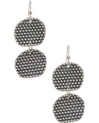 Simon Sebbag - Sterling Silver Prosecco Double Drop Earrings - Lyst
