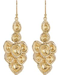 Melinda Maria - Jaclyn Cz Drop Earrings - Lyst