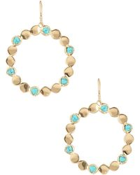 Melinda Maria - 14k Gold Plated Joan Pod Drop Earrings - Lyst