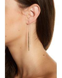 Melinda Maria - Kate Graduated Cz Ear Threaders - Lyst