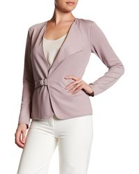 Yoana Baraschi - Highline Asymmetrical Jacket - Lyst