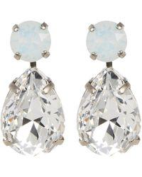 Sorrelli - Crystal Teardrop Earrings - Lyst