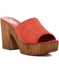 Shellys London - Elena Platform Sandal - Lyst