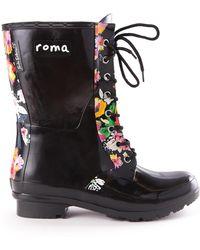 Roma - Epaga Waterproof Printed Rain Boot - Lyst