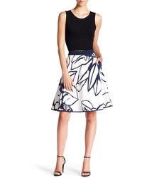 Ellen Tracy - Poplin Circle Skirt - Lyst