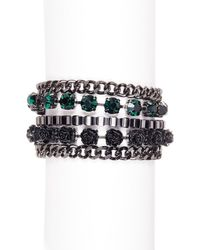 French Connection - Multi-row Bracelet - Lyst