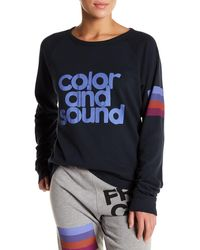 FREE CITY - Color & Sound Knit Pullover - Lyst