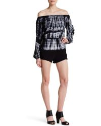 Fraiche By J - Tie-dye Off-the-shoulder Romper - Lyst