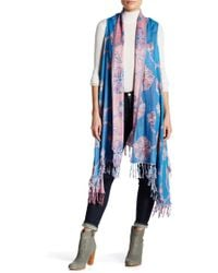 Raj - Flower Embroidered Vest - Lyst