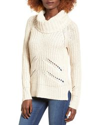 Love By Design - Marled Cowl Neck Pullover - Lyst