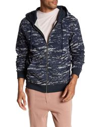 STONEFEATHER - Camouflage Print Zip-up Hoodie - Lyst