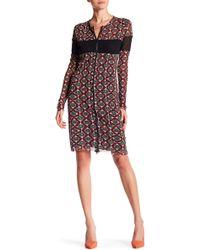 Petit Pois - Long Sleeve Print Dress - Lyst