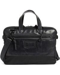 John Varvatos - Detroit Leather Briefcase - Lyst