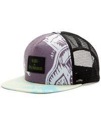 Globe | Print Snapback Hat | Lyst