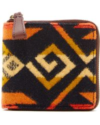 Pendleton - Small Leather Lined Zip Wallet - Lyst