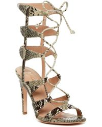 J/Slides | Gillian Caged Heel Sandal | Lyst