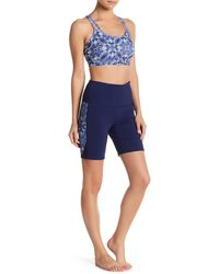 Gaiam - Side Print Mesh Short - Lyst