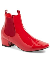N.y.l.a. - Square Toe Bootie - Lyst