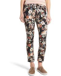 Jen7 - Tapestry Jacquard Ankle Skinny Jeans - Lyst