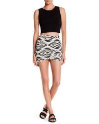 Rip Curl - Desert Nights Pompom Trim Mini Skirt - Lyst