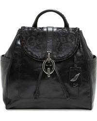 Diane von Furstenberg - Sutra Burnout Leopard Haircalf Backpack - Lyst