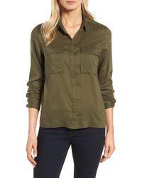 Halogen - Utility Shirt (regular & Petite) - Lyst