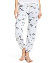 Monrow - Tropical Vintage Lounge Jogger Pants - Lyst
