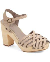 Hinge - 'parker' Sandal (women) - Lyst