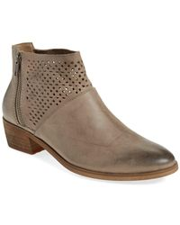 Hinge - 'villa' Perforated Bootie - Lyst