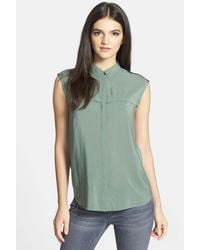 Trouvé - Pleat Detail Sleeveless Top - Lyst