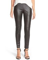 Trouvé - Faux Leather Leggings - Lyst