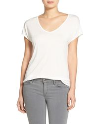 Trouvé - Relaxed Fit Shirttail Tee - Lyst