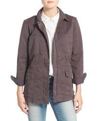 Hinge - Stretch-Cotton Utility Jacket - Lyst