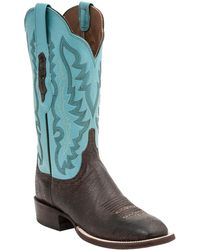 Lucchese - Old English Cowboy Boot - Lyst