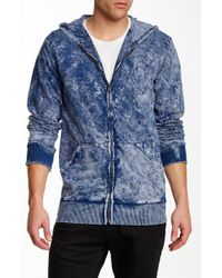 Cohesive & Co. - Serg Hooded Zip Sweater - Lyst