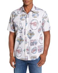 Jack O'neill - Crafted Print Woven Sport Shirt - Lyst