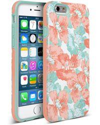 Nanette Lepore - Blue/fuchsia Cottage Fresh Iphone 6/6s 2-piece Case - Lyst