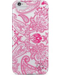 Nanette Lepore - Fuchsia Paisley Iphone 6/6s Frosted Case - Lyst