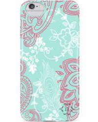 Nanette Lepore - Seafoam/pink Paisley Iphone 6/6s Case - Lyst