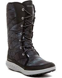 Merrell - Pechora Peak Faux Fur Boot - Lyst